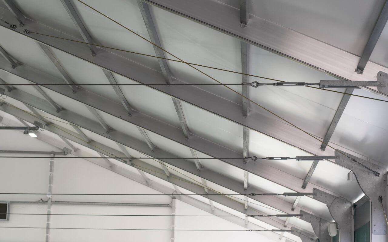 struttura maneggio coperto